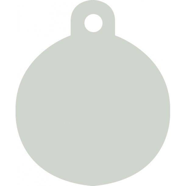 Rustfri stål cirkel