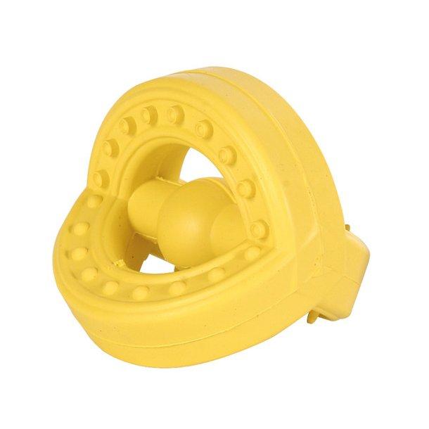 Gummi legetøj med håndtag 7 cm
